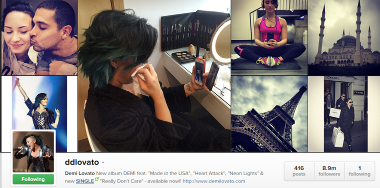 Demi - Instagram