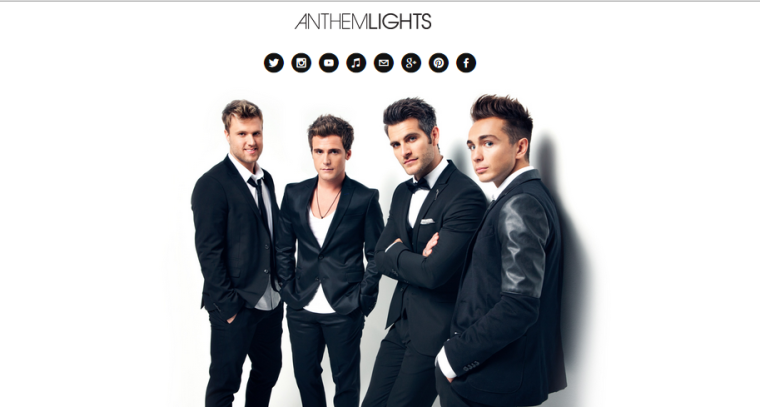 Anthem Lights - Website