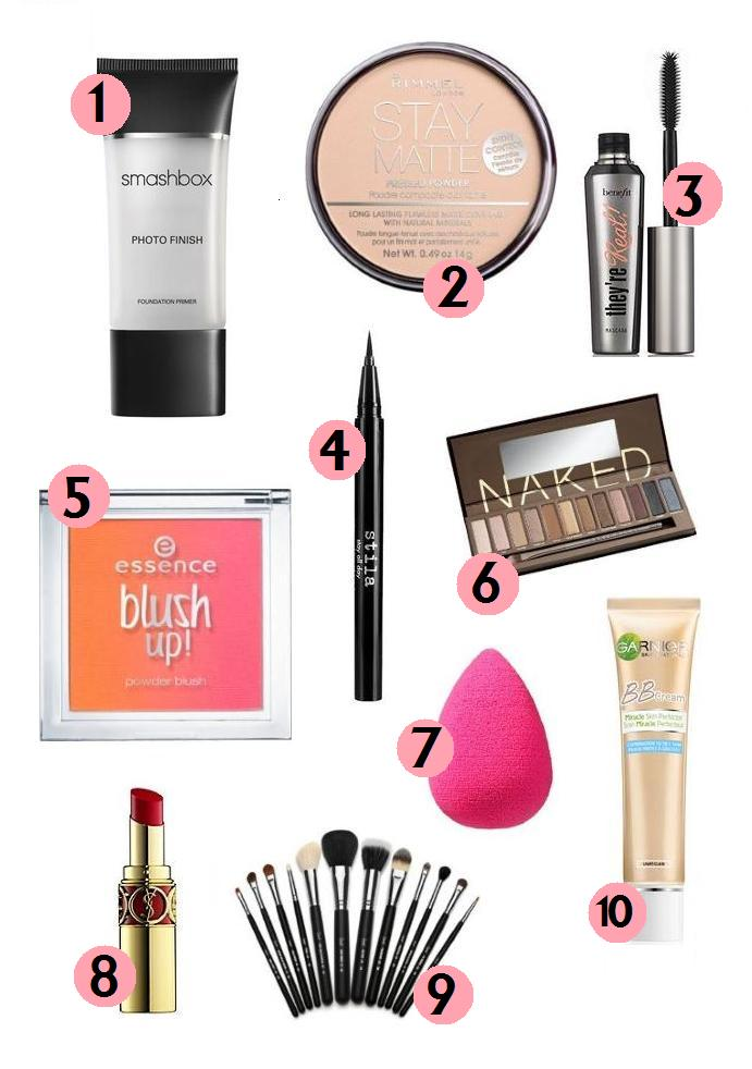 Makeup Must Haves For Beginners: Popcorn & Pearls