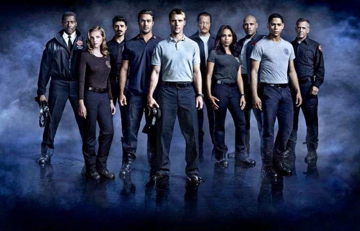 Chicago Fire S3 Cast 1