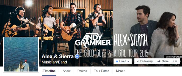 Alex and Sierra - Facebook