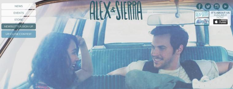 Alex and Sierra - Website