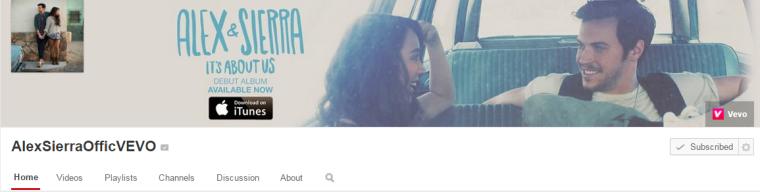 Alex and Sierra - Youtube