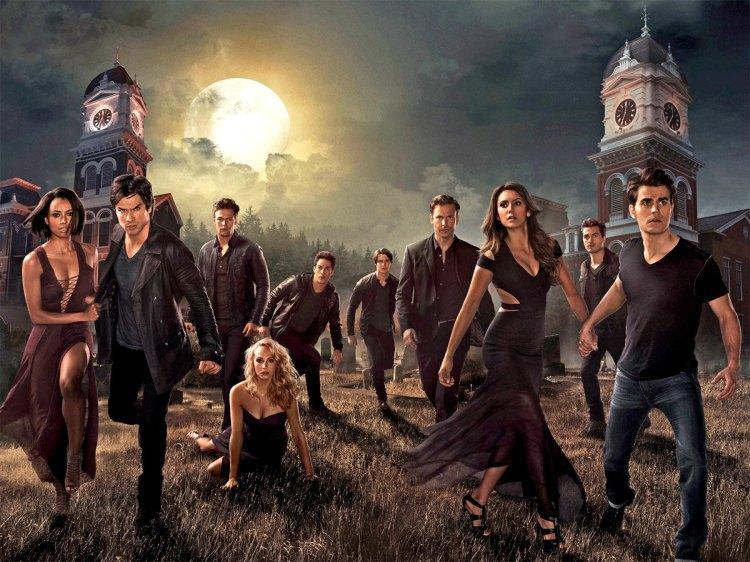 The Vampire Diaries S6 Cast 1