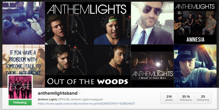 Anthem Lights - Instagram