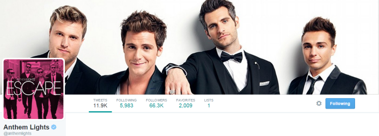 Anthem Lights - Twitter
