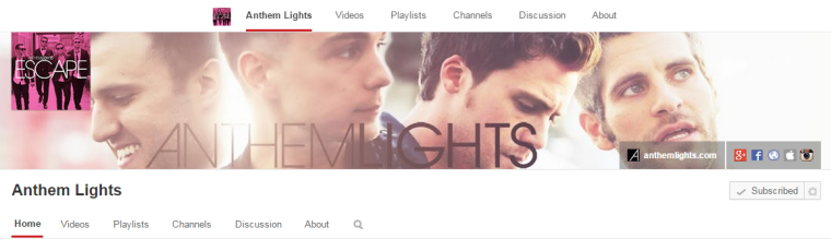 Anthem Lights - Youtube