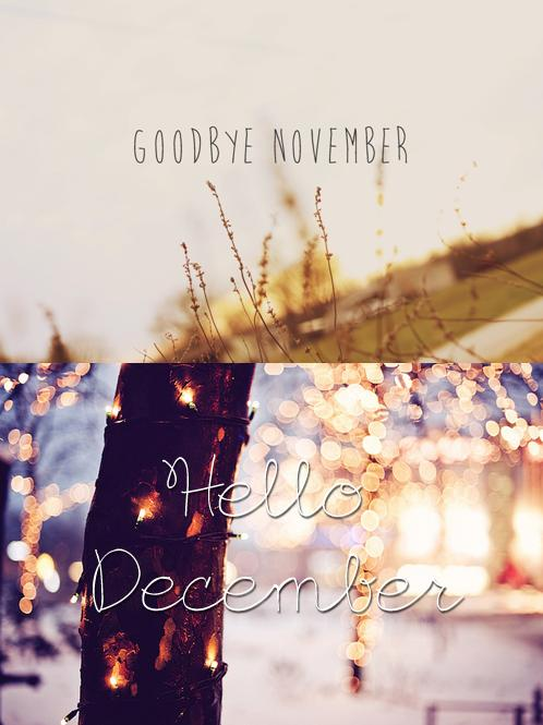 11 12. Goodbye November Hello December