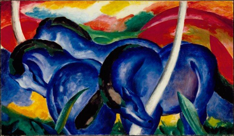 Blue Horses - Franz Marc