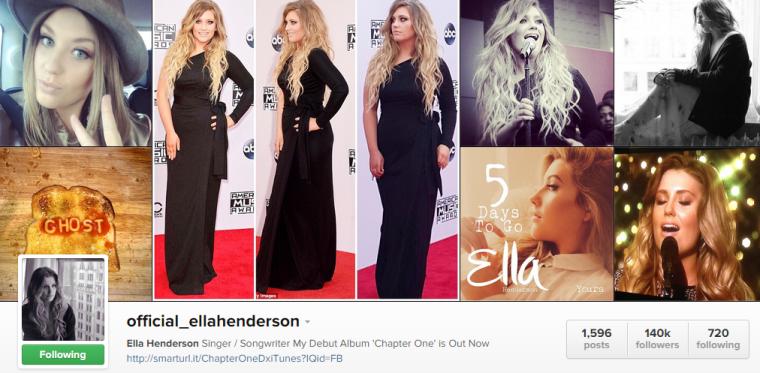 Ella Henderon - Instagram