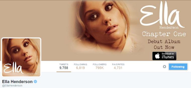 Ella Henderon - Twitter