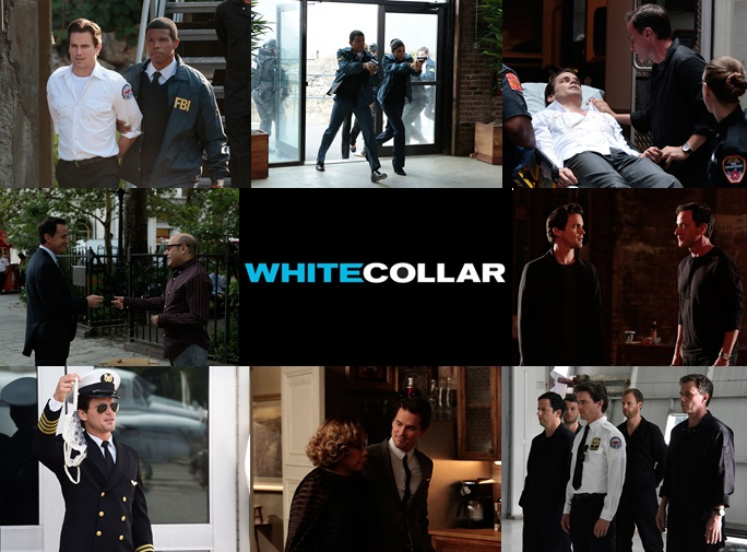 White Collar Collage