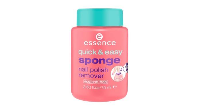 Essence - Sponge nail polish remover 1