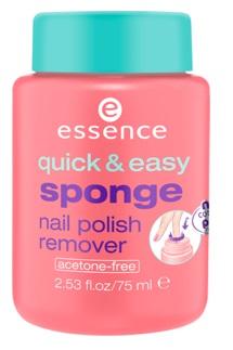Essence - Sponge nail polish remover