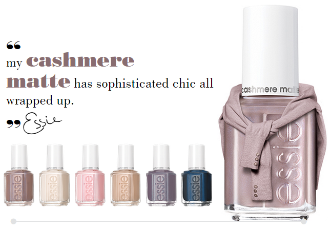 Essie - Cashmere Matte Collection 2015 [2]