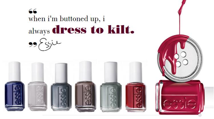 Essie - Essie Fall 2014 Dress to Kilt Collection [2]