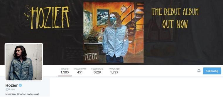 Hozier - Twitter
