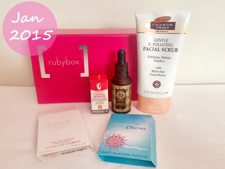 Rubybox - Jan 2015