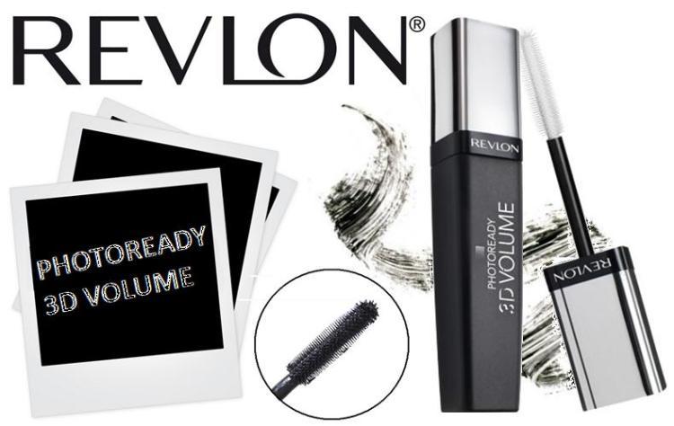 Revlon 3D Photoready Volume Mascara Collage 1