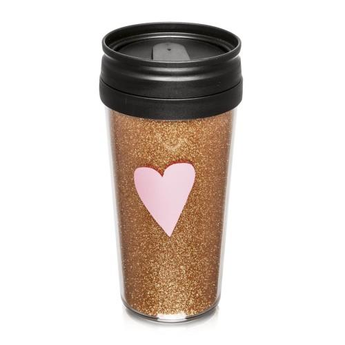 Woolworths - Glitter Travel Mug