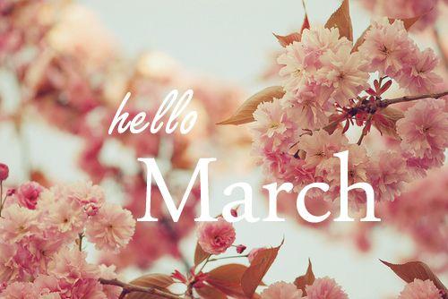 HELLO MARCH. Melissa EasthorpeOthergoodbye February ...