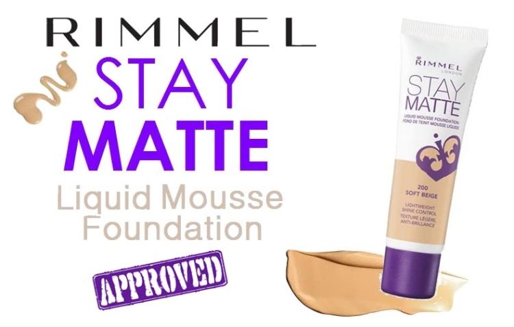 Foundation - Rimmel Stay Matte Mousse