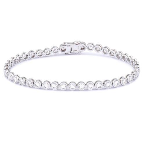 March - Fav Buys - Zita Round Stone Tennis Bracelet