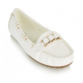 March - Favs Buys - White Moccasins