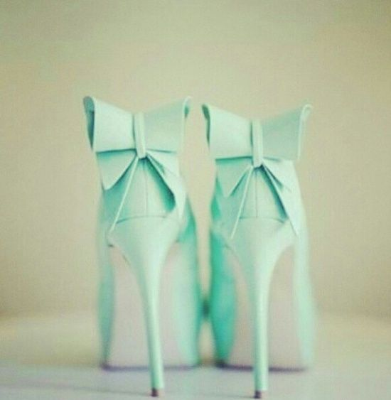 March - Fri Favs - Mint Heels
