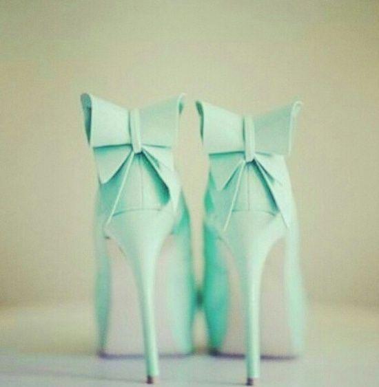 March - Fri Favs - Mint Heels