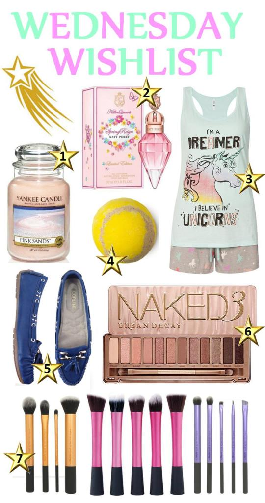 March - Wed Wishlist Collage 1