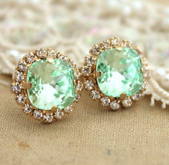 Mint - Earrings