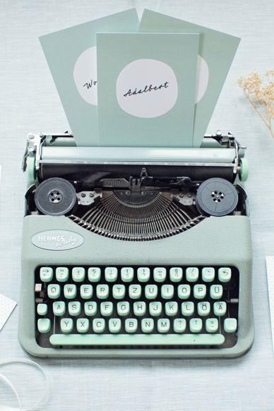 Mint - Typewriter