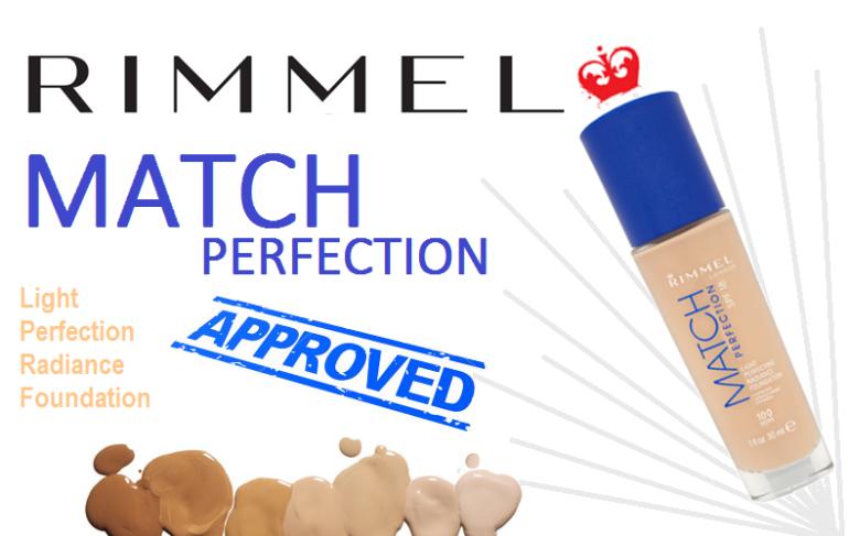 Rimmel Match Perfection Foundation - Rectangle
