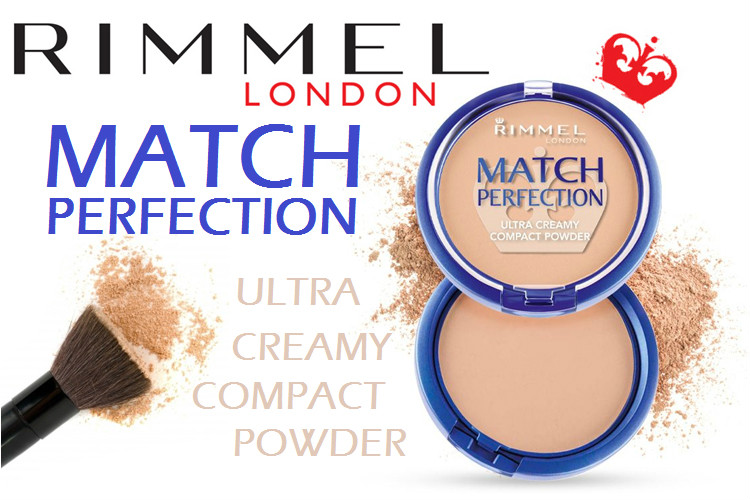 Rimmel Match Perfection Powder - Rectangle