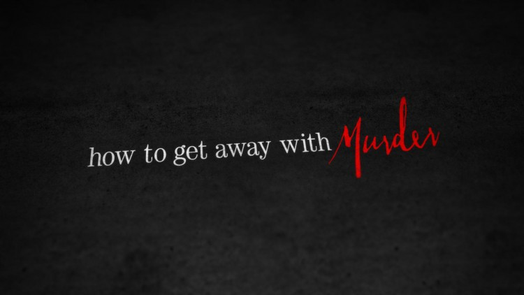 How To Get Away With Murder Poster 1