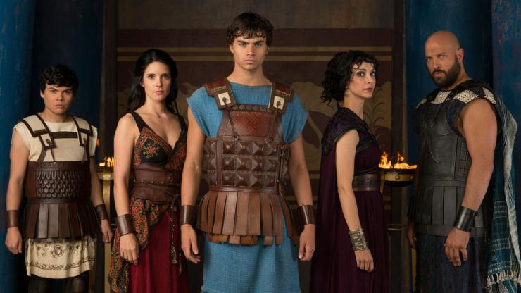 Olympus Cast