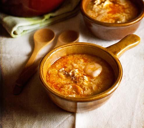 Spain - Castilian garlic soup