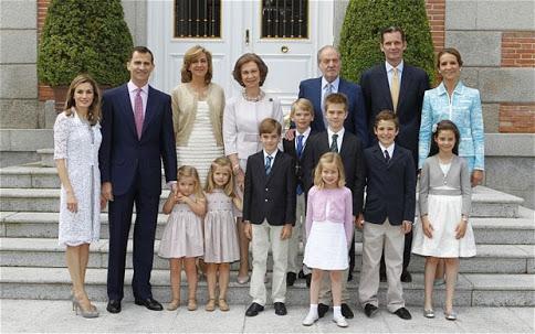 Spanish Royal Family 1