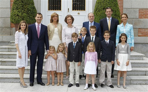 Spanish Royal Family 1
