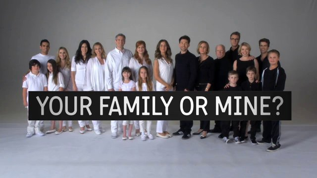 Your Family or Mine Poster 1