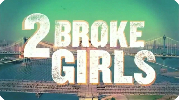 2 Broke Girls Logo 1
