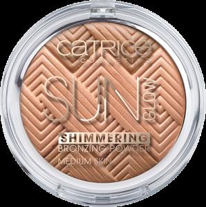 Catrice - Sun Glow Shimmering Bronzing Powder - Shimmering Bronze - Medium Skin