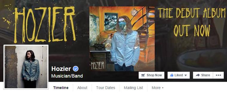 Hozier Facebook