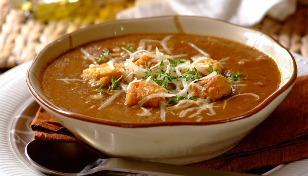 Robertson Spices Recipes - Black Bean and Noodle Soup