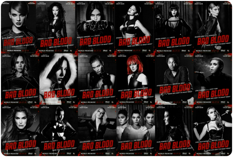 Taylor Swift - Bad Blood All 2