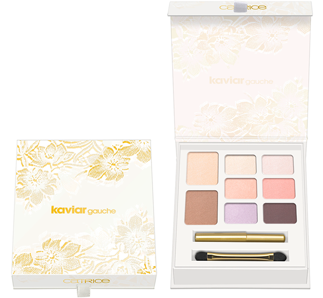 Catrice Kaviar Gauche Collection - Gilding Eye and Face Palette 4