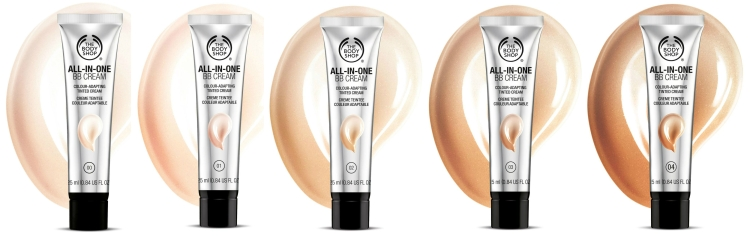 The Body Shop Logo - BB Cream All