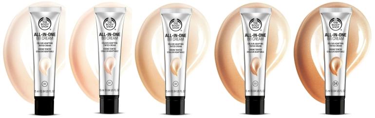 The Body Shop Logo - BB Cream All