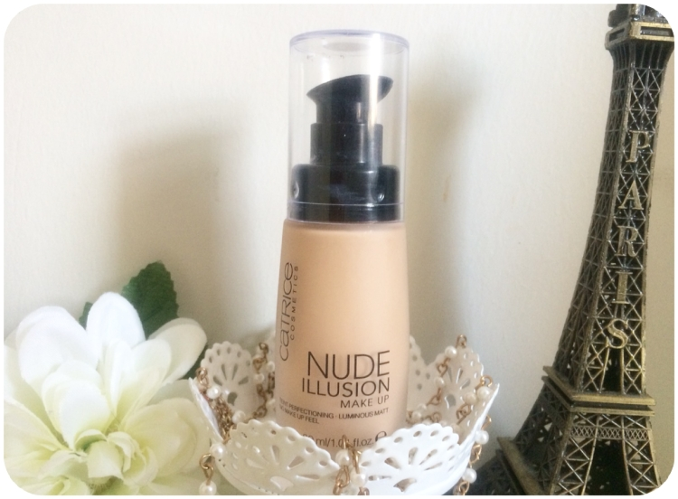Aug - July Fav Buys - Catrice Nude Illusion Foundation
